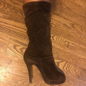 Velvety Chocolate Brown Boots